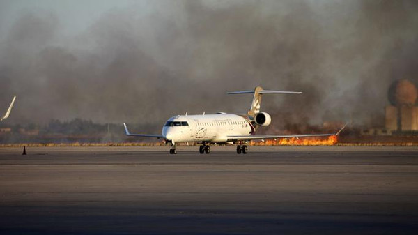 Last year, there was shelling at Tripoli International Airport.
