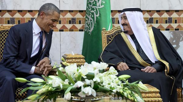 President Barack Obama had met new Saudi King Salman in Riyadh in January.