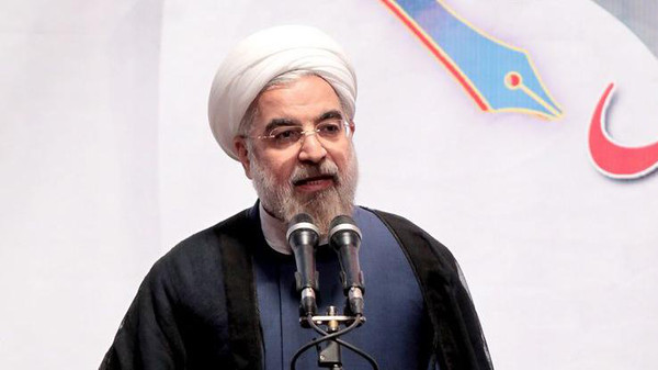 Rowhani's comments came a day after the latest round of talks between Iran and the P5+1 group of world powers.