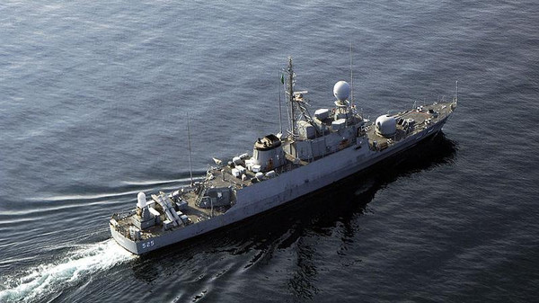 File photo of a Royal Saudi Navy class missile boat.
