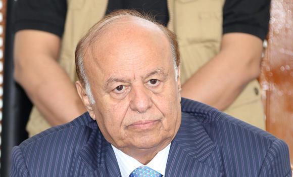 Yemeni President Abdrabuh Mansur Hadi.