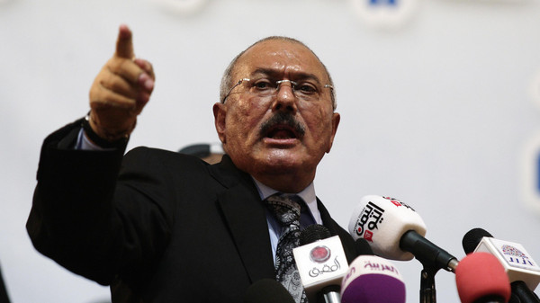 A Security Council resolution on Tuesday blacklisted Saleh and the leader of Houthi militias.
