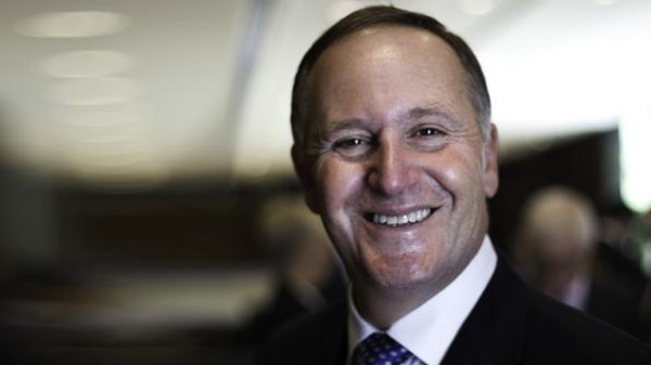 John Key during the opening of his country's new Consulate General in Dubai.