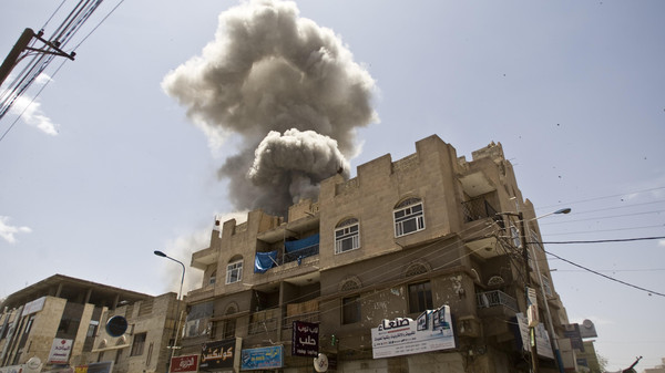 More than six weeks of air strikes by Sunni Muslim Gulf monarchies' jets have failed to push back the Shiite Houthis and militia and army units loyal to the Houthis' ally, ex-president Ali Abdullah Saleh.