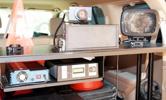 Saher monitoring equipment.