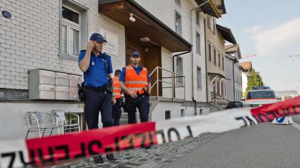 Several people were killed in a shooting late on Saturday in a town in the Swiss canton of Aargau.