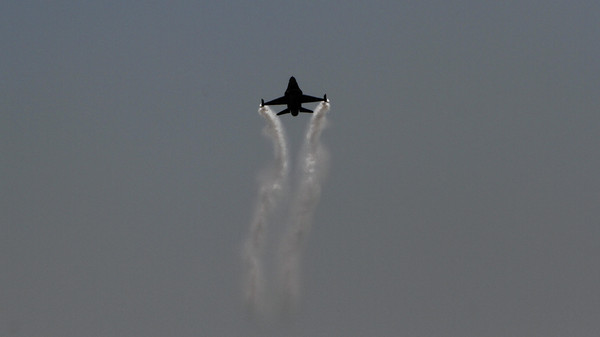 Turkish jets shoot down Syrian aircraft after it violates air space.