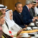 Gulf rulers meet Obama at Camp David summit