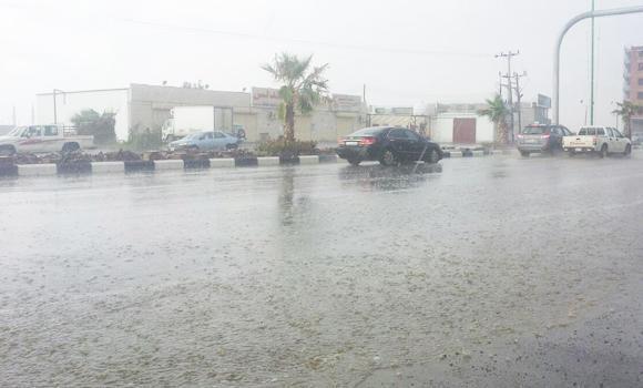 Downpour in Jazan