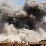 Coalition strikes on Houthis rock Yemen capital