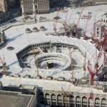 Saudi king inaugurates Grand Mosque expansion projects