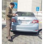 104 parking irregularities recorded in EP over 5 days for disabled parking