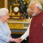 Indian PM Modi meeting queen on 2nd day of UK visit