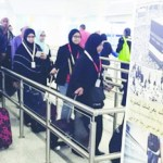 First Umrah flight arrives in Madinah from Malaysia