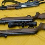 Unlicensed weapons found on 17 women