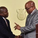 South Africa's president replaces finance minister, again