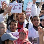 Moroccan trainee teachers protest over grant cuts