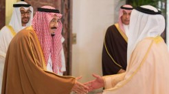 Saudi King Salman has landed in Abu Dhabi, kicking off an official tour of the GCC.