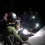 Airstrike in Syria's Hama kills eight White Helmets rescuers