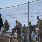 Dozens of migrants storm Morocco-Spain border post square