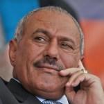 Relatives of Yemen's slain ex-president Saleh arrive in Oman