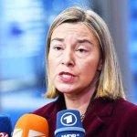 Mogherini demands immediate cease-fire