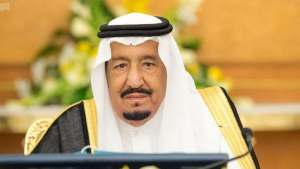 Saudi King Salman bin Abdulaziz.