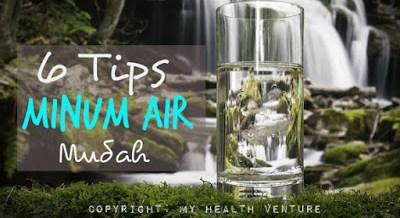 tips minum air kosong