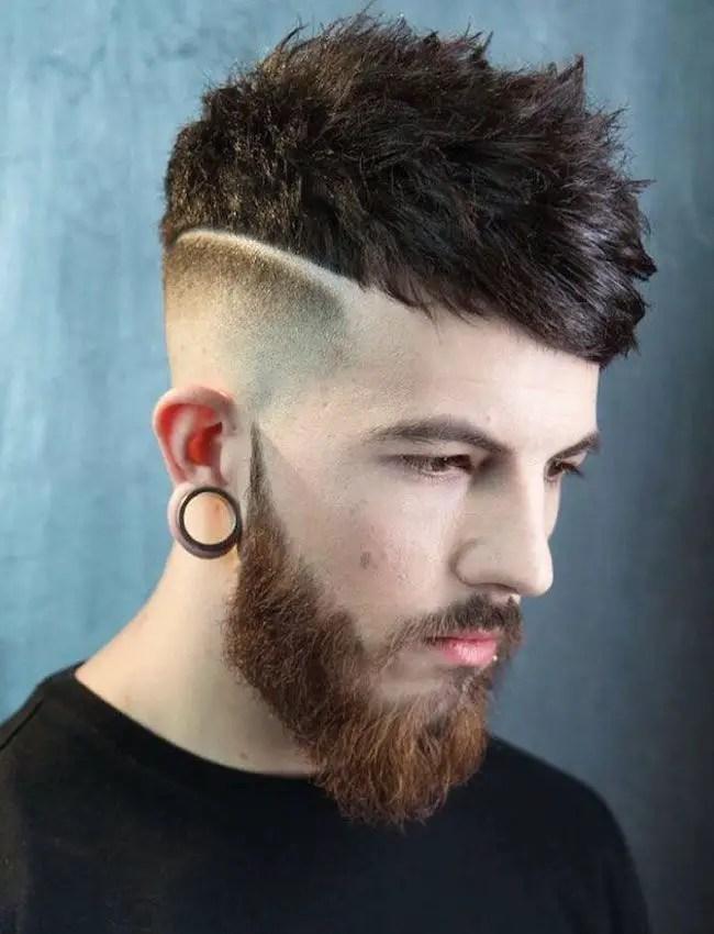 Cortes de pelo hombres jovenes rayas