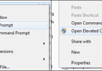 Command Prompt from Here Shell Extension