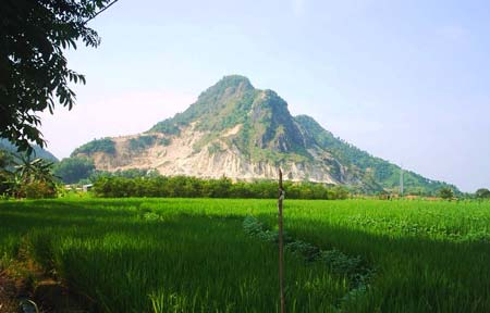 Ilustrasi Pemandangan-Gunung