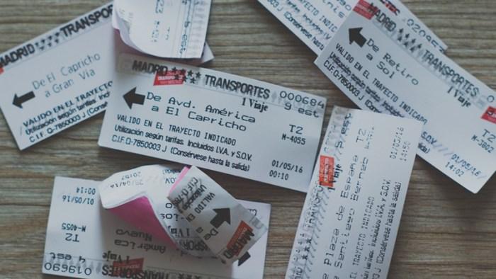 Tiket Metro Madrid