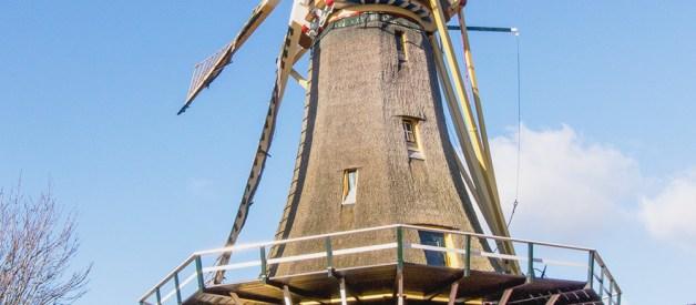 Kincir Angin Belanda - Pengalaman Kuliah di Belanda