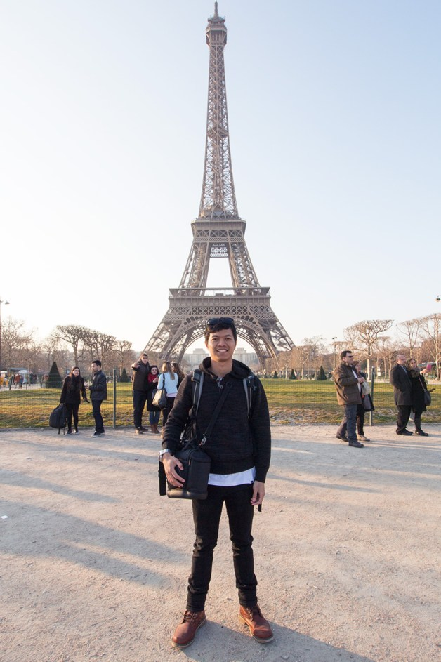 Rizqi Fahma - At Eiffel Paris