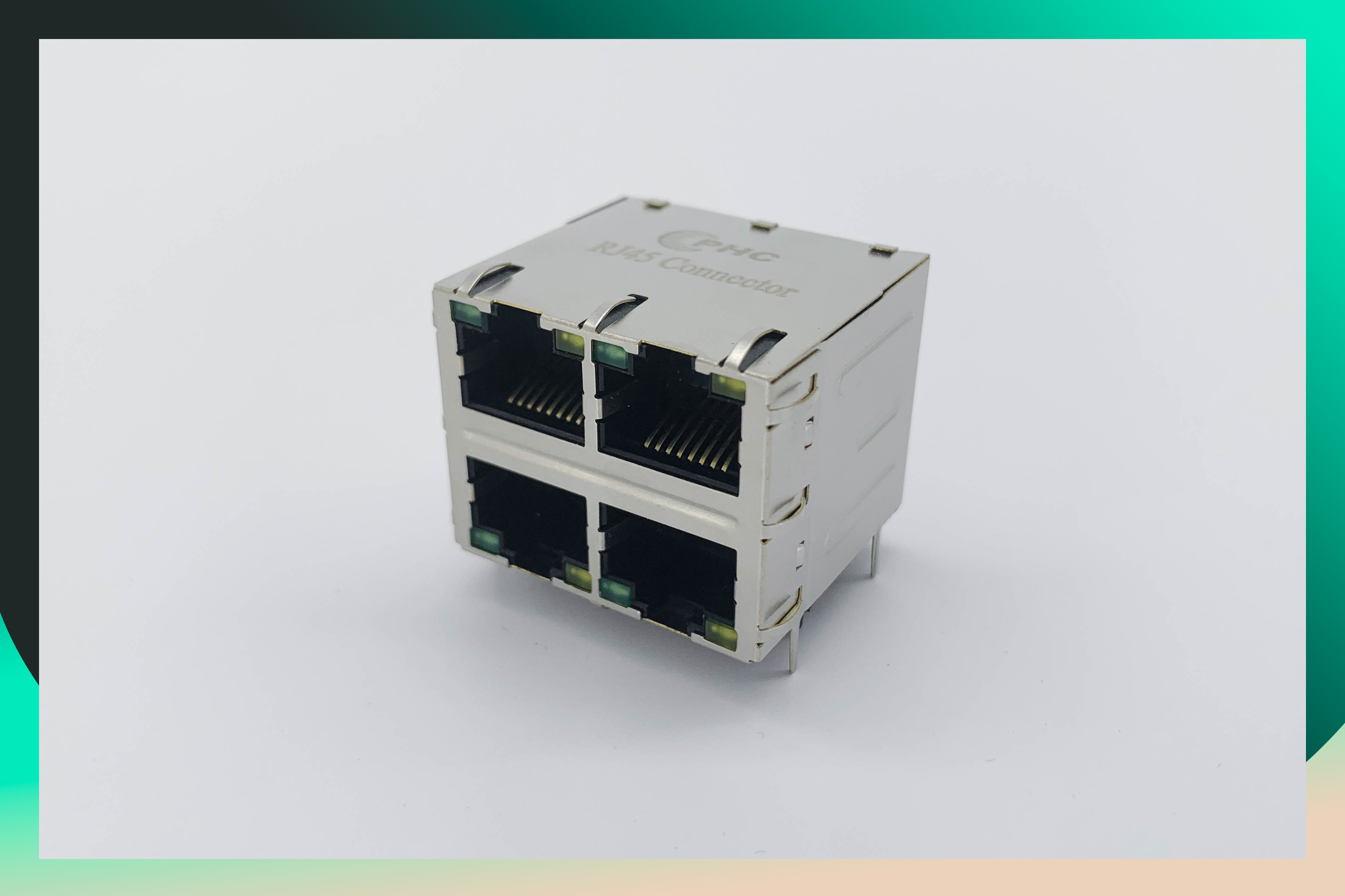 Phc 2 X 2 Port 10 100 Mbps Shielded Rj45 Ethernet