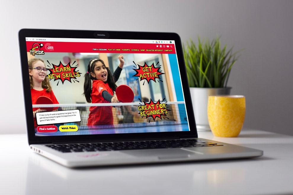 TT Kidz website homepage image