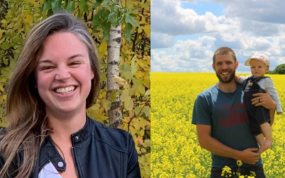 As long as you're growing: Two RJC graduates share about their lives on different ends of the agriculture spectrum