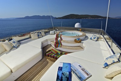 O'Rion luxury charter yacht in Greece