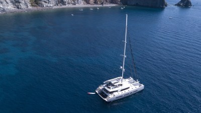 Babac Catamaran in the Caribbean