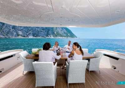 Naseem luxury charter yacht, Croatia