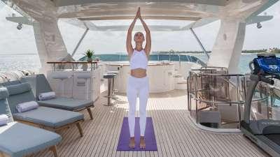 Namaste luxury charter yacht