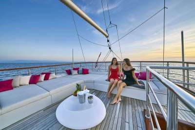 Corsario luxury sailing yacht 5