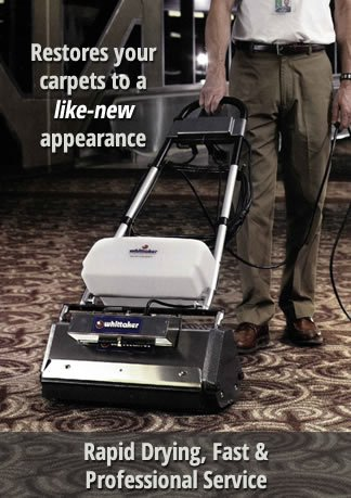 Commercial Carpet Cleaning Process