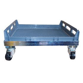 galvanised bread crate dolly suits