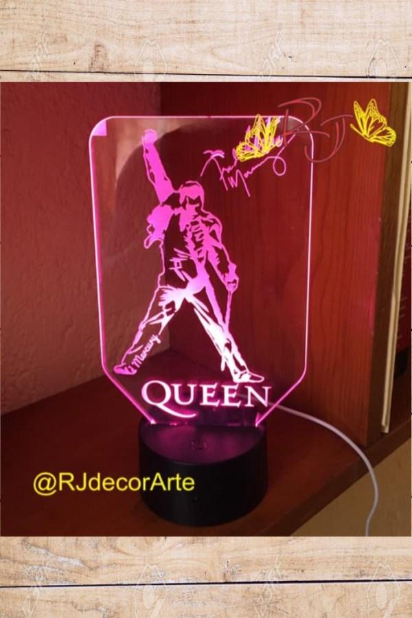 lampara led queen