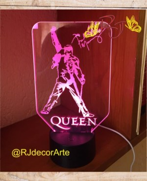 lampara led queen