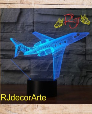 Lampara led avion 2