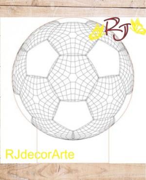 Vector balón fútbol