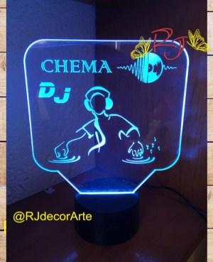 Lampara led DJ