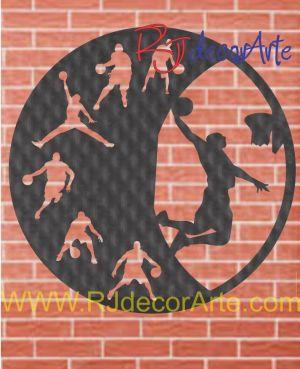 Reloj basquetbol